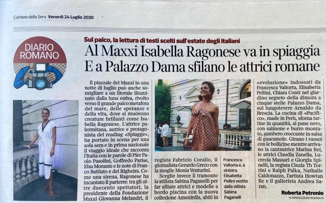 Press* Roma  Palazzo Dama 22 Luglio 2020